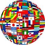 International Flag Globe ICON