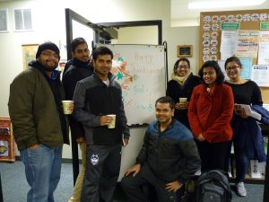 Group of International Students and what they are thankful for